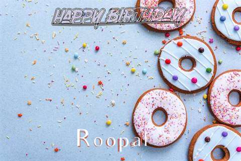 Happy Birthday Roopal Cake Image
