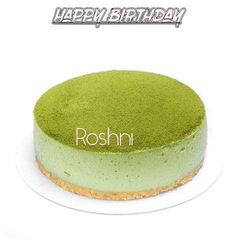Happy Birthday Cake for Roshni