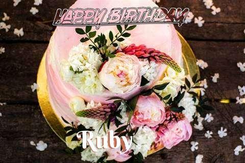 Ruby Birthday Celebration