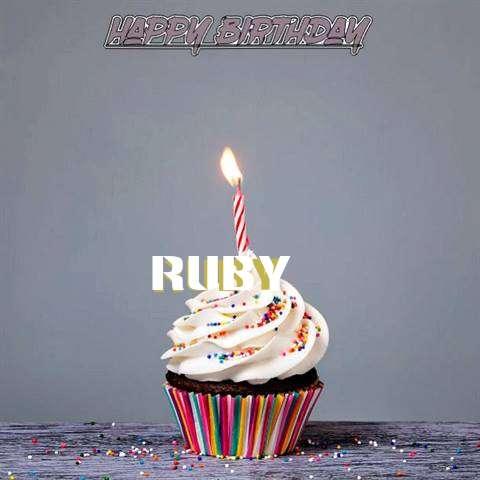 Happy Birthday to You Ruby