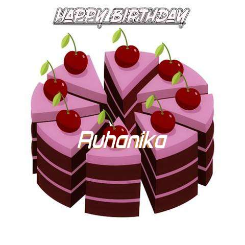 Happy Birthday Cake for Ruhanika