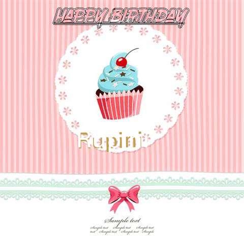 Happy Birthday to You Rupini
