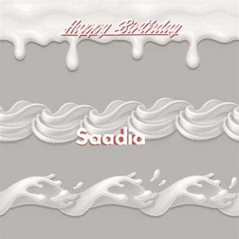 Birthday Images for Saadia
