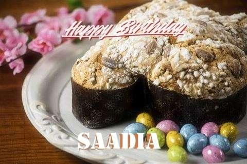 Happy Birthday Wishes for Saadia