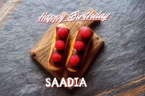 Happy Birthday to You Saadia