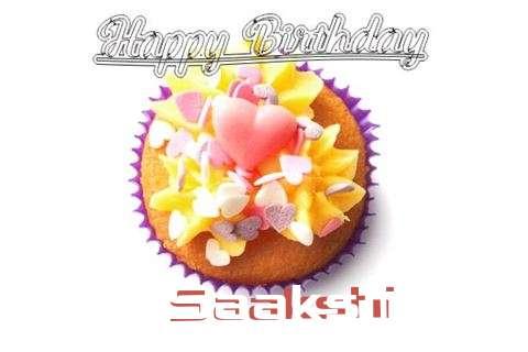 Happy Birthday Saakshi Cake Image