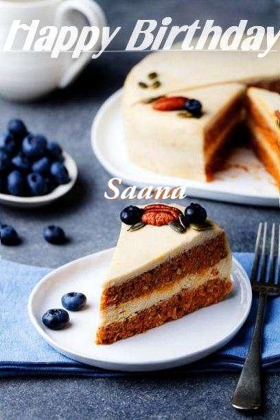 Happy Birthday Wishes for Saana