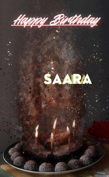 Happy Birthday Cake for Saara