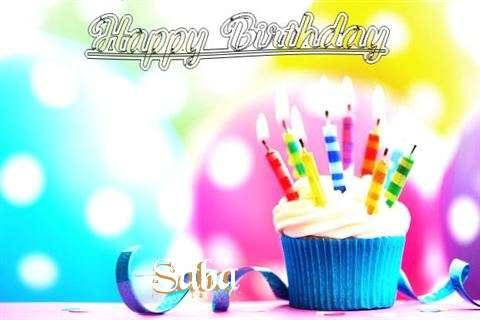 Happy Birthday Saba