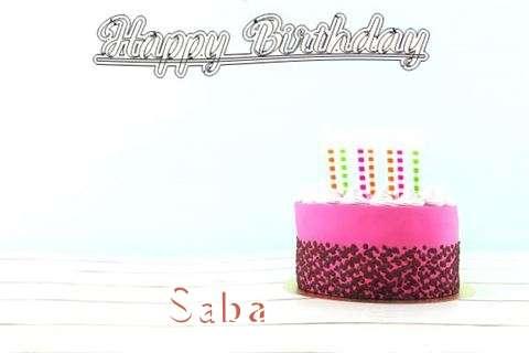 Happy Birthday to You Saba