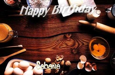 Happy Birthday to You Sabana