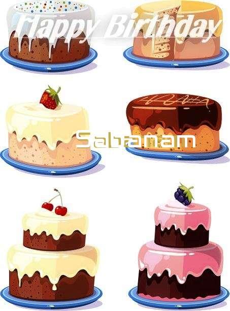 Happy Birthday to You Sabanam