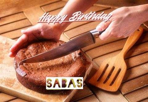 Happy Birthday Sabas Cake Image