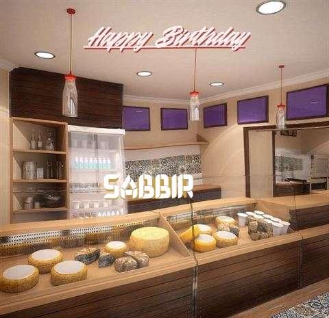 Happy Birthday Sabbir Cake Image