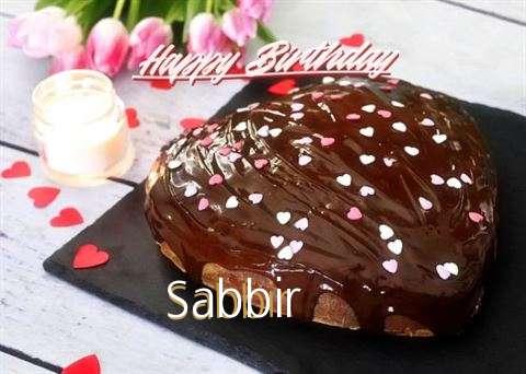 Happy Birthday Cake for Sabbir