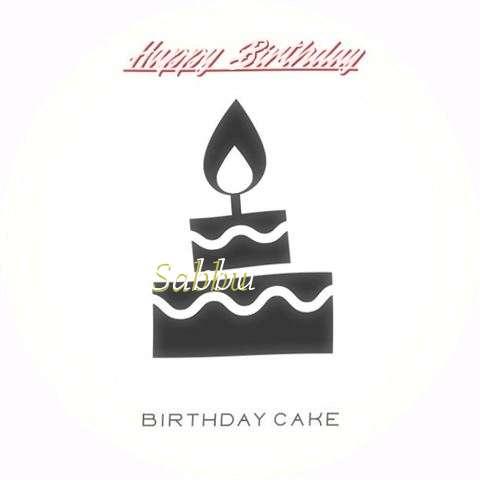 Happy Birthday to You Sabbu