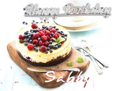 Happy Birthday Sabby