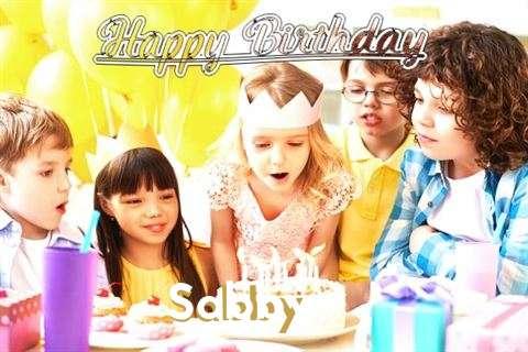 Happy Birthday to You Sabby
