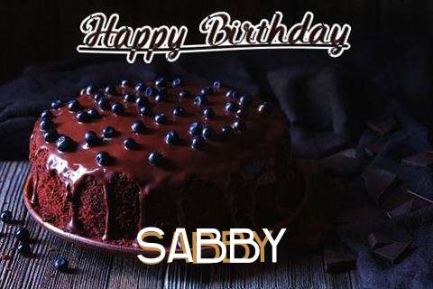 Happy Birthday Cake for Sabby