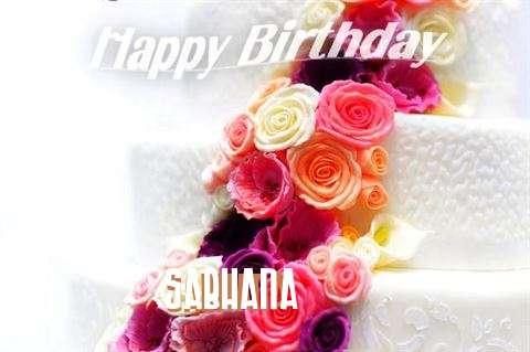 Happy Birthday Sabhana