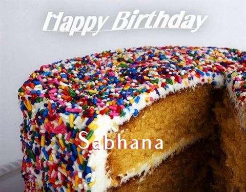 Happy Birthday Wishes for Sabhana