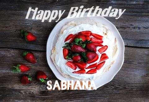 Happy Birthday to You Sabhana
