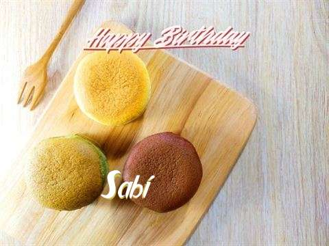Happy Birthday Sabi