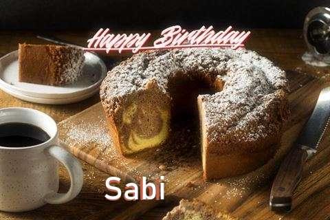 Happy Birthday to You Sabi