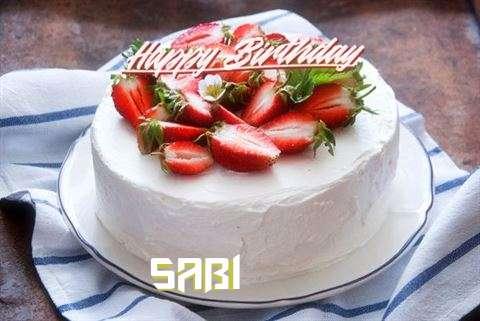 Happy Birthday Cake for Sabi