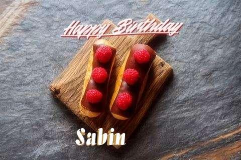 Happy Birthday to You Sabin