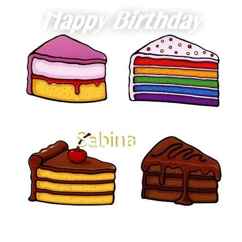 Happy Birthday Sabina
