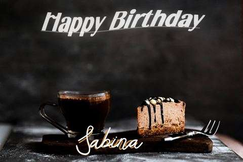 Happy Birthday Wishes for Sabina