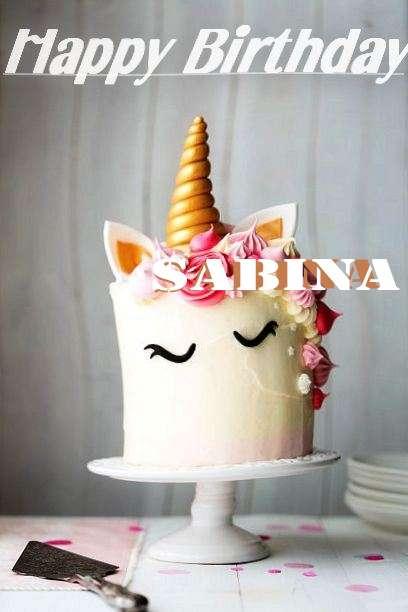 Happy Birthday to You Sabina