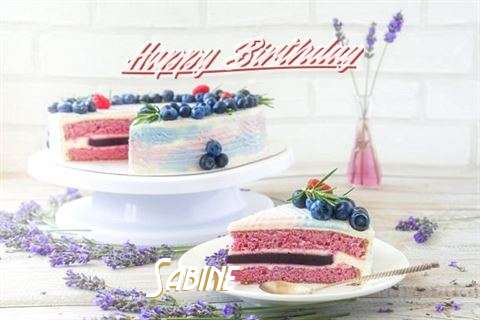 Happy Birthday to You Sabine