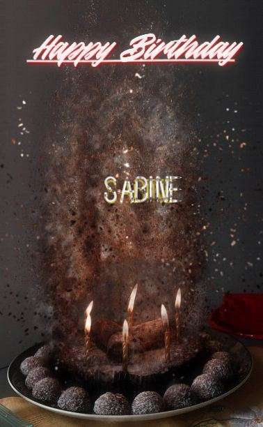 Happy Birthday Cake for Sabine