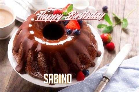 Happy Birthday Sabino Cake Image