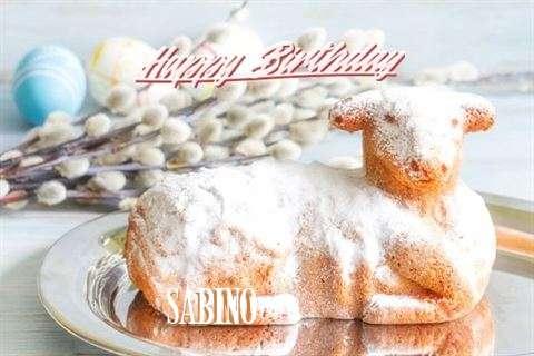 Happy Birthday to You Sabino