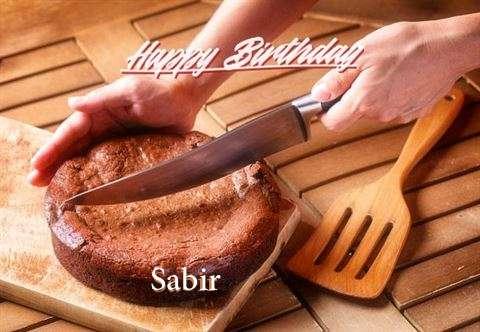 Happy Birthday Sabir Cake Image