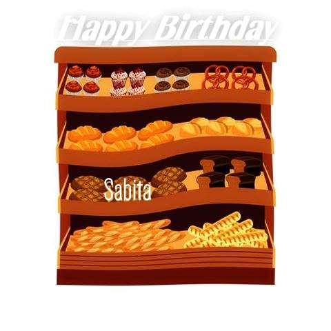 Happy Birthday Cake for Sabita