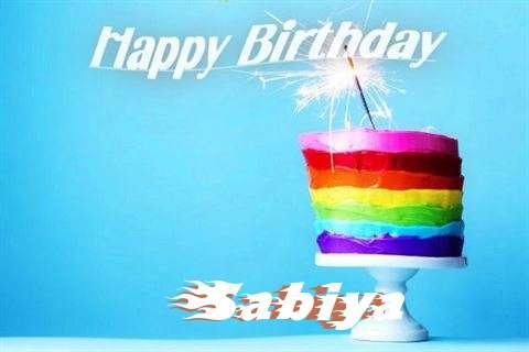 Happy Birthday Wishes for Sabiya