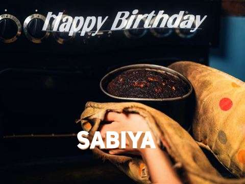 Happy Birthday Cake for Sabiya
