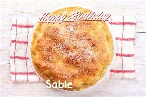 Sable Birthday Celebration