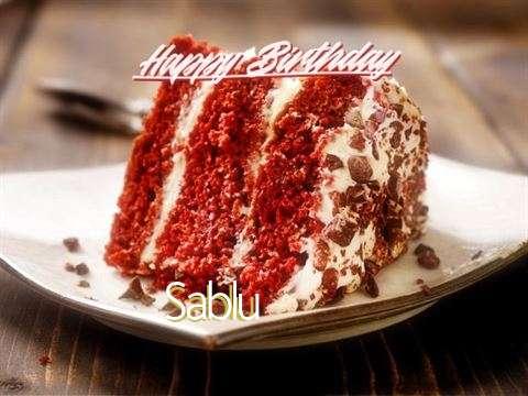 Happy Birthday to You Sablu