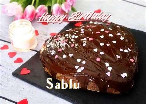 Happy Birthday Cake for Sablu