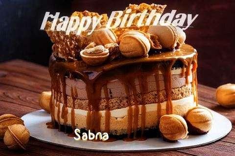 Happy Birthday Wishes for Sabna