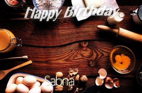 Happy Birthday to You Sabna
