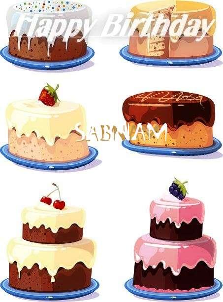 Happy Birthday to You Sabnam