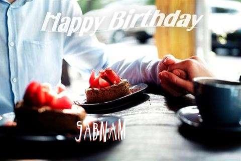 Wish Sabnam