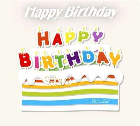 Happy Birthday Wishes for Sabra