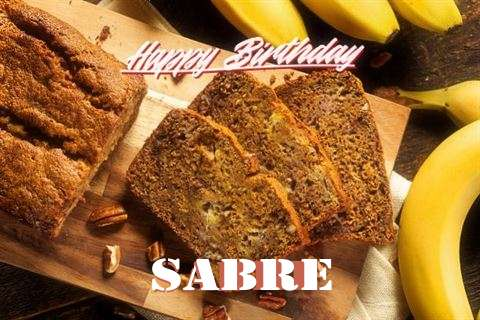 Happy Birthday Sabre Cake Image